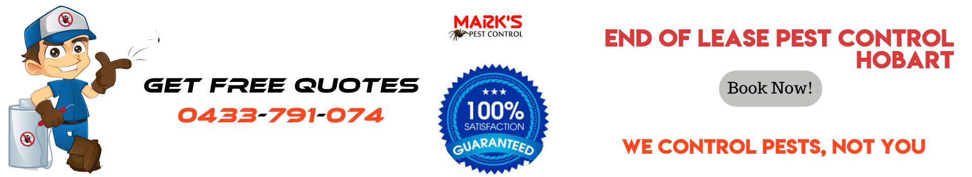 End Of Lease Pest Control Hobart