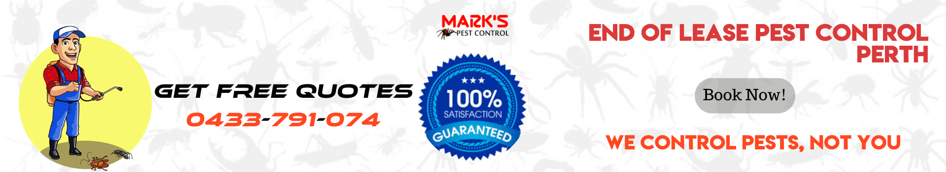 End Of Lease Pest Control Perth