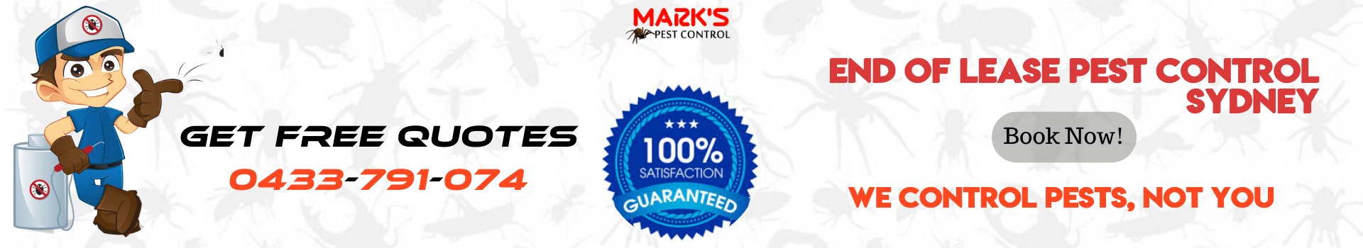 End Of Lease Pest Control Sydney
