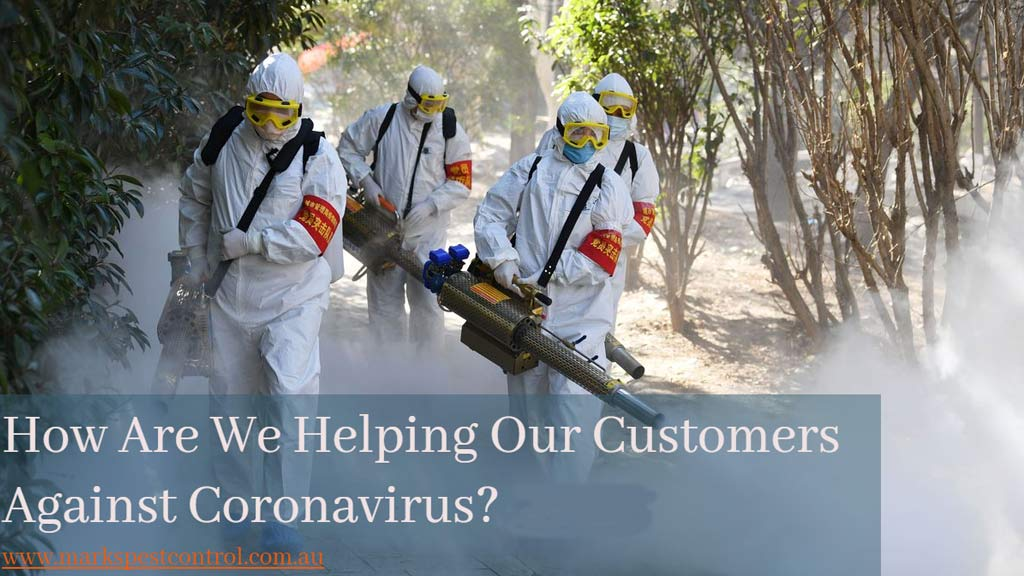 How Are We Helping Our Customers Against Coronavirus?